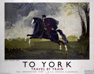 Railway poster for York by Doris Zinkeisen