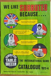 Subbuteo, Football, World Cup, Soccer, Vintage, Sport