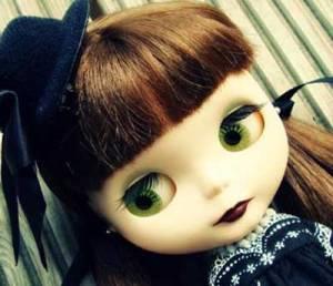 Blythe, doll, big eyes